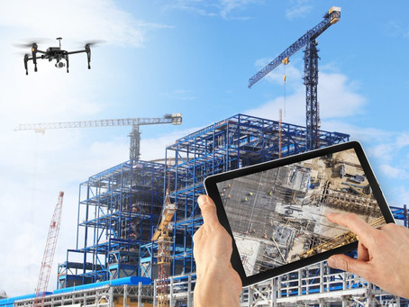 Drónok az építőiparban