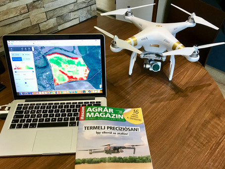 Kukoricára figyel a legtöbb drón