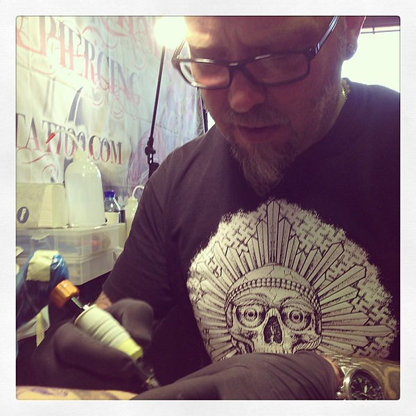 derek tattooing
