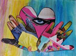 Heart Eye Hands 1, Sandra Davis