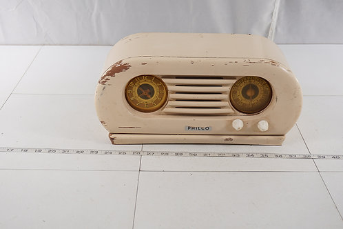 Rare Philco Radio Model 42- K R5 - Was Sold Only With Refrig