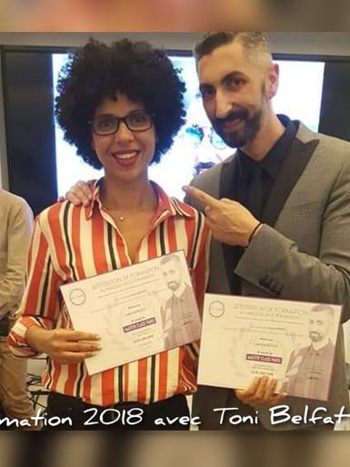 Formation 2018 avec Toni Belfatto