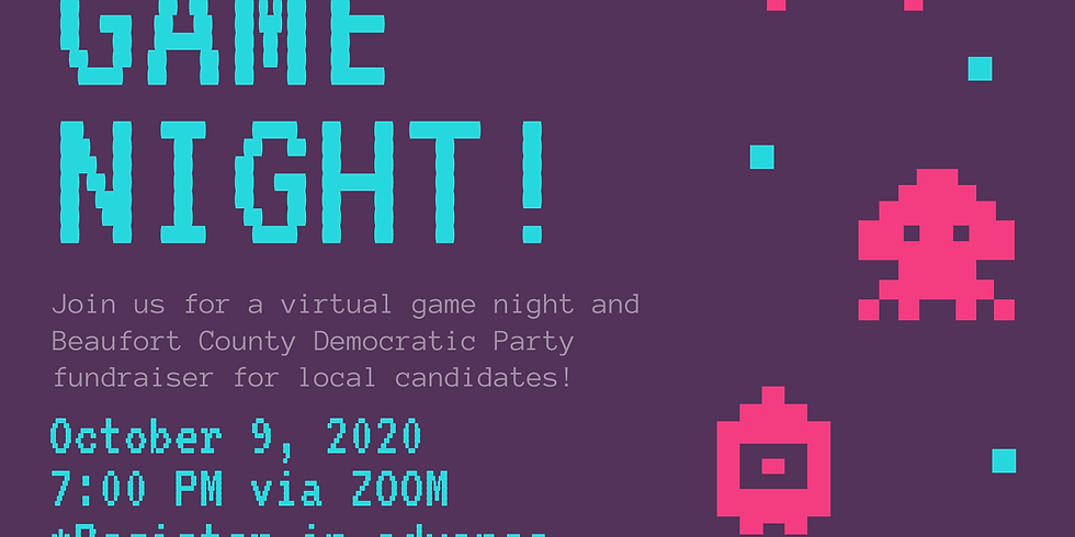 Virtual Game Night and Fundraiser