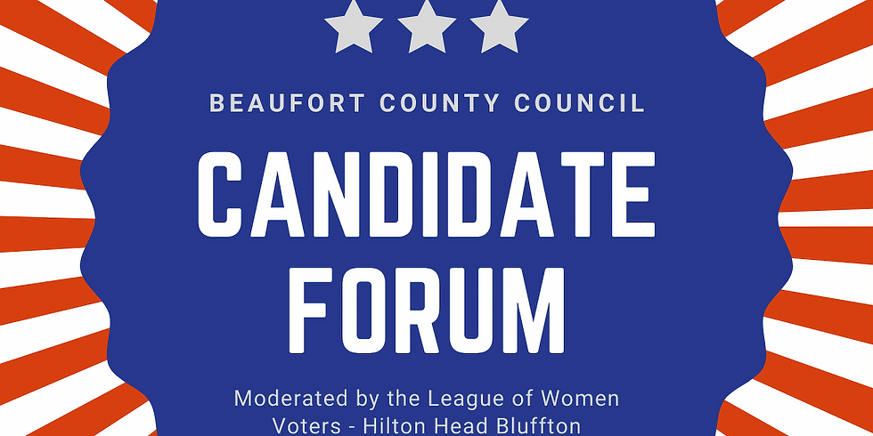 League of Women Voters County Council Candidate Forum