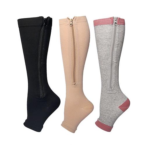 Leaky Toe Lipper Socks