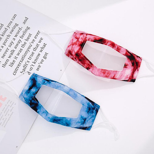Tie Dye Perspective Mask