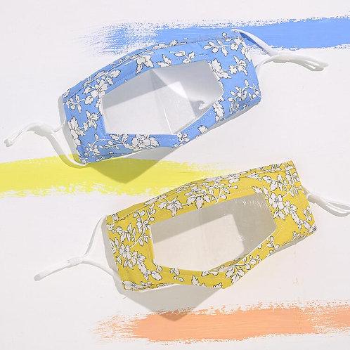 Line Drawing Flower Transparent Mask
