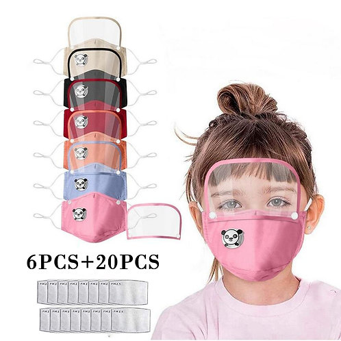 Children Detachable Mask