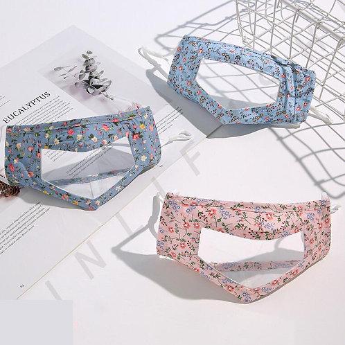 Flower Transparent Mask