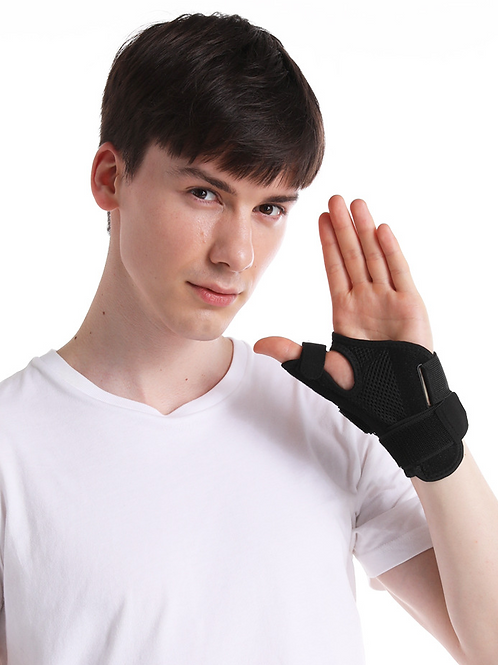 Thumb support wrist bandage, for arthritis, tendon inflammation, etc