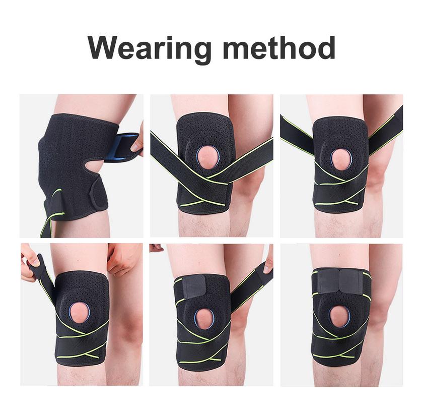 Thumbnail: Sports Bandage Pressure Silicone Knee