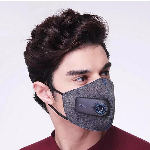 Electric filter mask