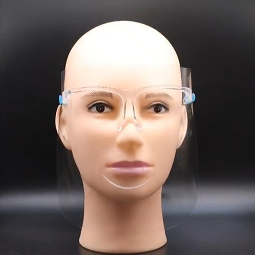 Shield Mask Glasses Frame