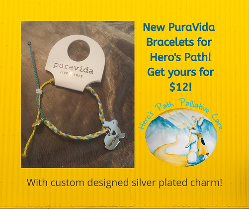 new puravida bracelets for hero's path!