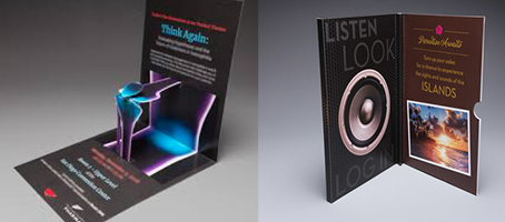 Tactile, Sensory & Interactive Mailers