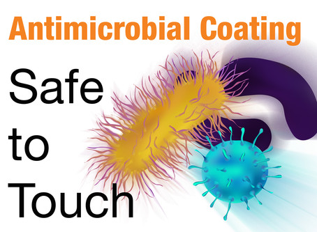 Ensure your print is safe to touch with antimicrobial coating.