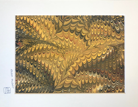 Unframed -Suzer - Untitled1  7x9 Ebru $3