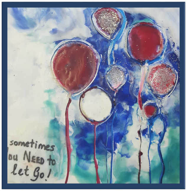Let Go_Encaustic
