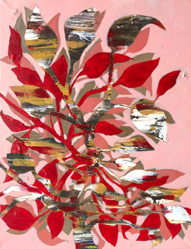 Leaves and Petals_16x20_acrylics