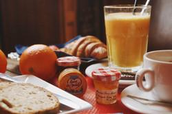 Petit déjeuner café 203