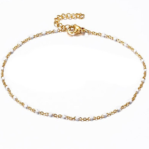 Steel Yourself Away Anklet