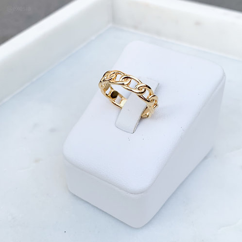 Olympia Gold Links Ring