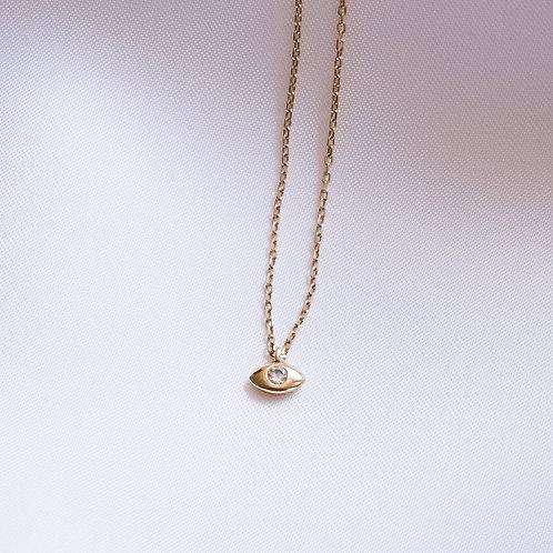 Mini Oval Mati Necklace