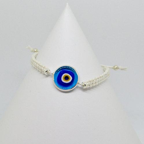 Aegean Blue Mati Bracelet