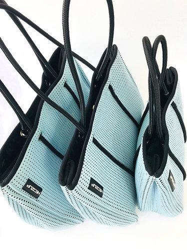 Hedzup Sky Blue Neoprene Tote Bags