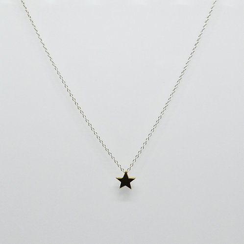 Mini Gold Star Necklace