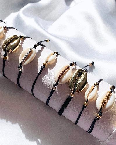 By the Sea Shell bracelets