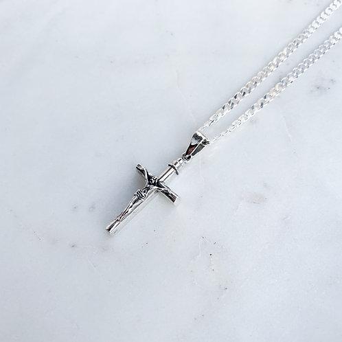 Men's Large Crucifix Necklace