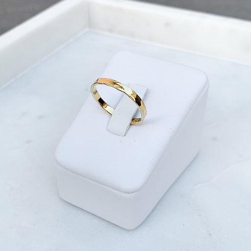Golden Sands Thin Ring