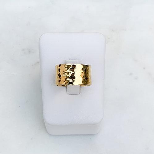 Golden Sands Extra Wide Ring