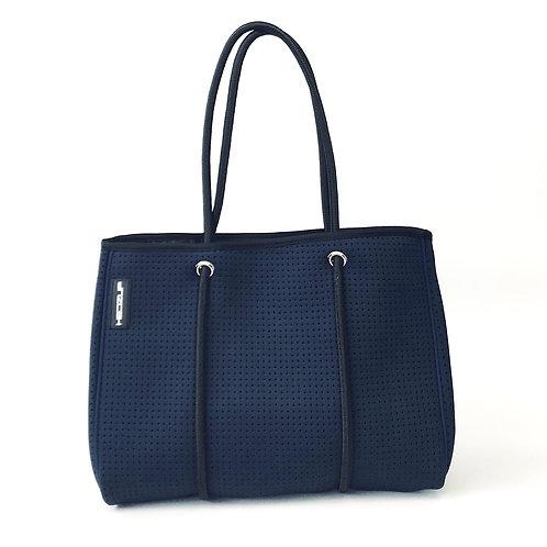 Hedzup Navy Neoprene Tote Bag