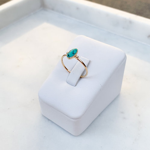 Golden Mini TQ Marquee Ring