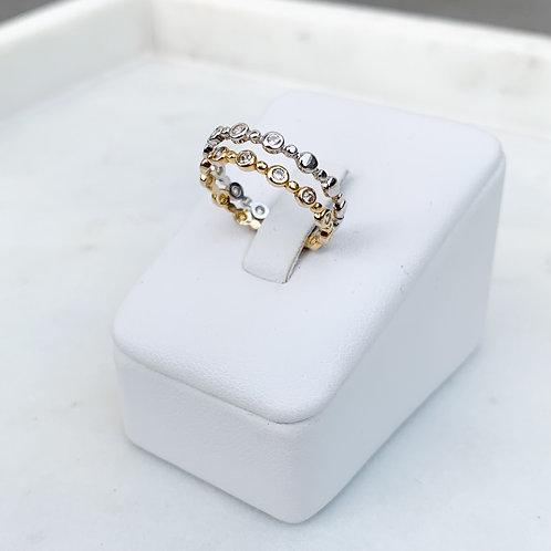 CZ Circles Ring