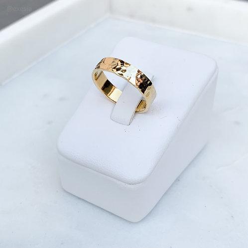 Golden Sands Wide Ring