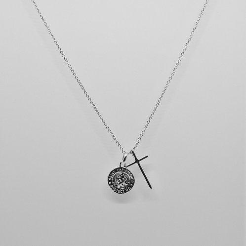St Christoper Cross Necklace