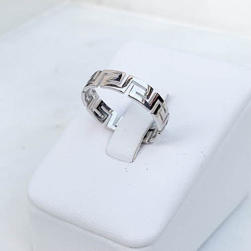 Greek Meander Ring