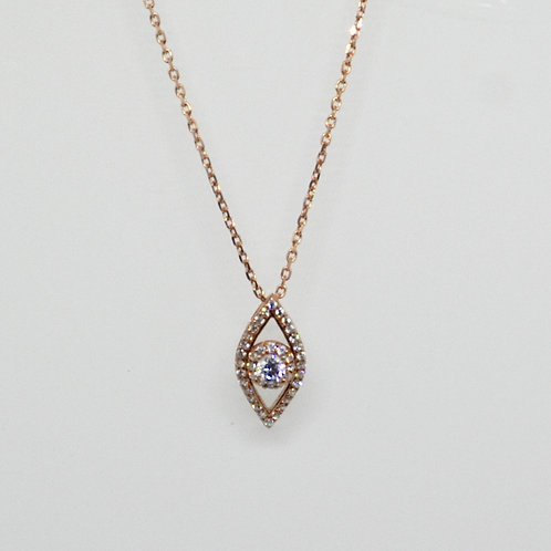 CZ Marquise Mati Necklace