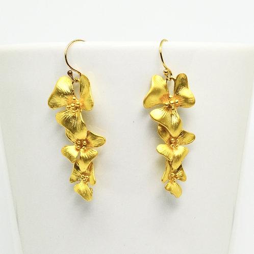 Orchid Cascade Earrings