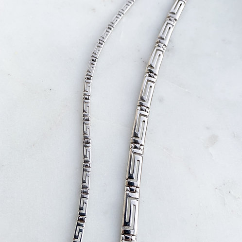 Greek Meander Key Bracelet