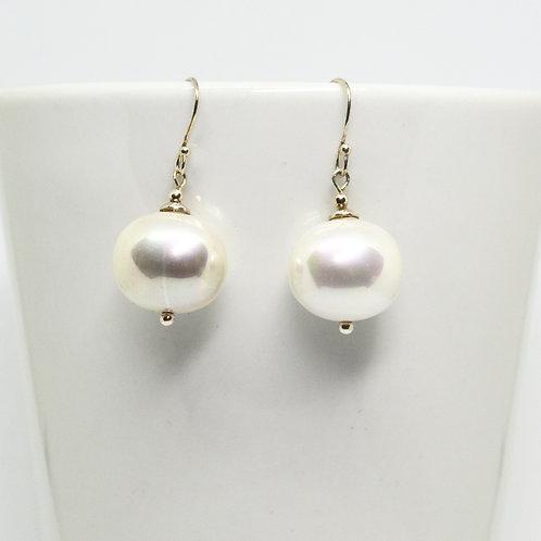 Potato Pearl Earrings