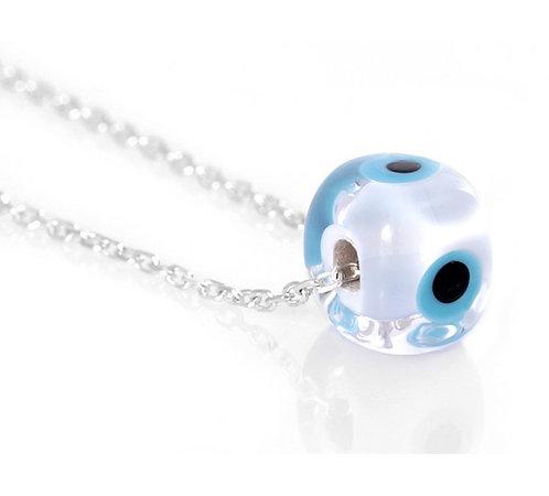 Handmade Large Mati Bead Necklace