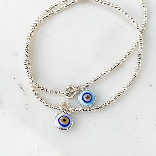 Turquoise Blue Mati Bracelet