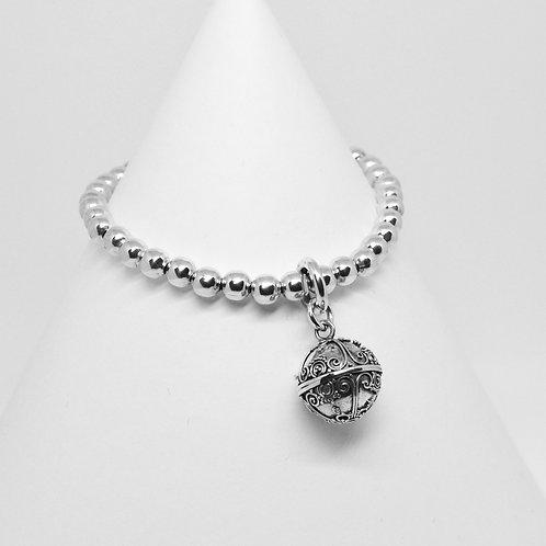 Harmony Ball Charm 5mm Bracelet