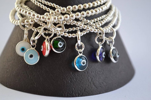 Mati (eye) Charm Bracelet