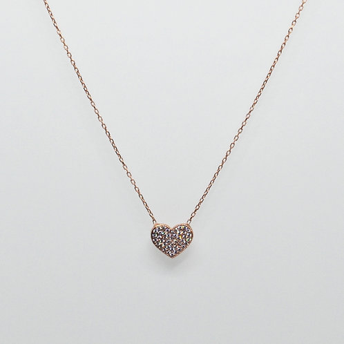 CZ Heart Necklace