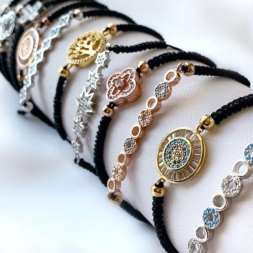CZ String bracelets